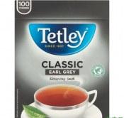 HERBATA TETLEY CLASSIC EARL GREY 100T