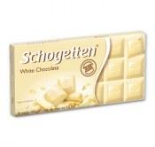 SCHOGETTEN CZEKOLADA WHITE CHOCOLATE 100G