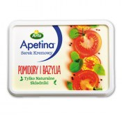 APETINA SEREK KREMOWY POMIDORY I BAZYLIA 125G