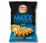 CHIPSY LAY'S MAXX CHEESE & ONION 130G