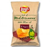 CHIPSY LAY'S MEDITERRANEAN 3 PEPPERS 100G