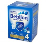 MLEKO BEBILON JUNIOR Z PRONUTRA+ 4 1200G