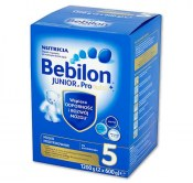 MLEKO BEBILON JUNIOR Z PRONUTRA+ 5 1200G