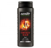 APART ŻEL POD PRYSZNIC ENERGY MAN 400ML