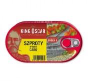 KING OSCAR SZPROTY W OLEJU CARO 170G