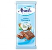 ALPINELLA CZEKOLADA KOKOSOWA 90G