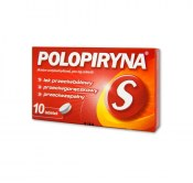 LEK POLOPIRYNA S 10 TABLETEK