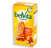 BELVITA CIASTKA ZBOŻOWE HONEY & NUTS 300G