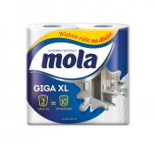 MOLA RĘCZNIK PAPIEROWY GIGA XL 2 ROLKI