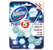 DOMESTOS KOSTKA WC POWER 5 CHLORINE 55G