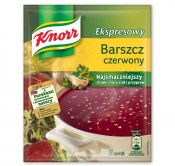 KNORR ZUPA BARSZCZ CZERWONY EKSPRESOWY 53G