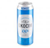 PIWO OKOCIM 0.0% ALK. 0.5L PUSZKA