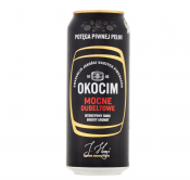PIWO OKOCIM PREMIUM MOCNE 7% ALK.0,5L PUSZKA