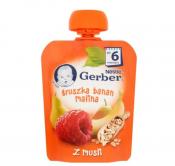 GERBER DESER 90G GRUSZKA/BAN/MALINA/MUSL