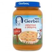 GERBER JARZYNOWA Z CIELĘCINĄ 190G