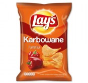 CHIPSY LAY'S KARBOWANE PAPRYKA 130G