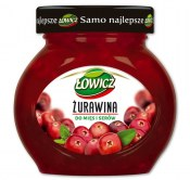 ŁOWICZ ŻURAWINA DO MIĘS I SERÓW 280G