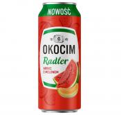 PIWO OKOCIM RADLER ARBUZ Z MELONEM 2% ALK.0.5L PUSZKA