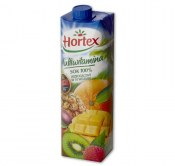 HORTEX SOK MULTIWITAMINA 100% 1L