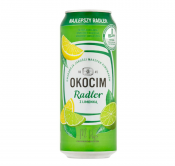 PIWO OKOCIM RADLER LEMON 2% 0,5L PUSZKA