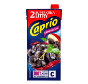 CAPRIO NAPÓJ CZARNA PORZECZKA 2L KARTON