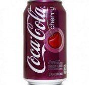 COCA COLA CHERRY 0,33L PUSZ.