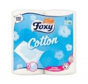 FOXY PAPIER TOALETOWY COTTON 5-WARST A4