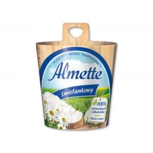 ALMETTE SEREK TWAROGOWY ŚMIETANKOWY 150G