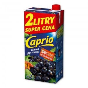 CAPRIO NAPÓJ CZARNA PORZECZKA 2L