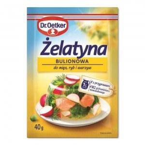 DR.OETKER ŻELATYNA BULIONOWA 40G