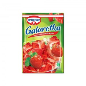 DR.OETKER GALARETKA TRUSKAWKOWA 75G