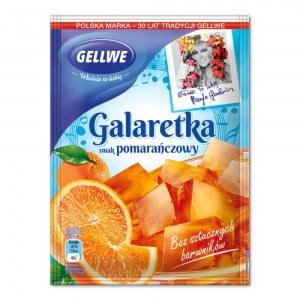 GELLWE GALARETKA POMARAŃCZOWA 75G