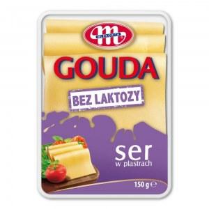 SER GOUDA BEZ LAKTOZY 150G PLASTRY