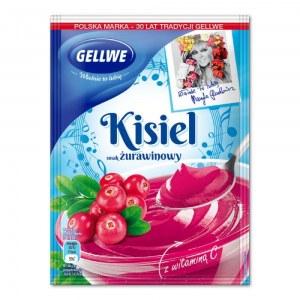 GELLWE KISIEL ŻURAWINOWY 38G