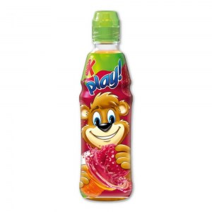 KUBUŚ PLAY MARCHEW MALINA JABŁKO LIMETKA 400ML