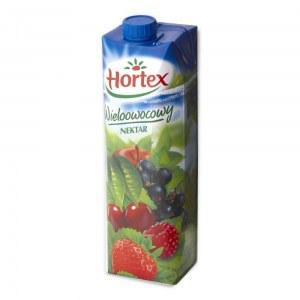 HORTEX NEKTAR WIELOOWOCOWY 1L KARTON