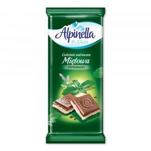 ALPINELLA CZEKOLADA MIĘTOWA 100G