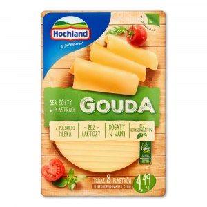 HOCHLAND SER GOUDA W PLASTRACH 135G