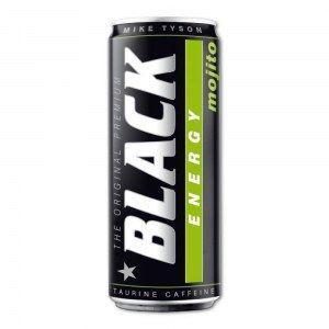ENERGY DRINK BLACK MOJITO 250ML