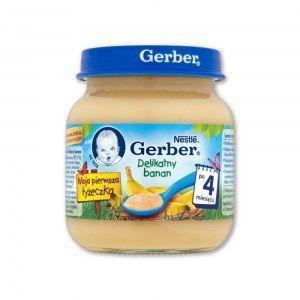 GERBER DELIKATNY BANAN 125G