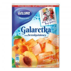 GELLWE GALARETKA BRZOSKWINIOWA 75G
