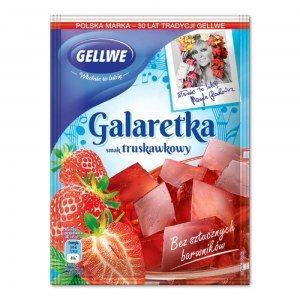 GELLWE GALARETKA TRUSKAWKOWA 75G
