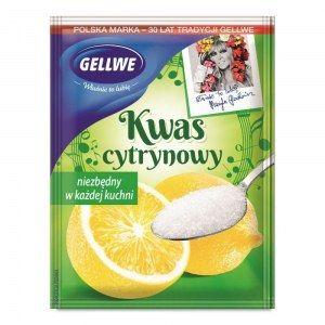 GELLWE KWAS CYTRYNOWY 20G