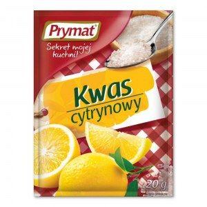 PRYMAT KWAS CYTRYNOWY 20G