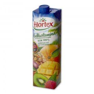 HORTEX SOK MULTIWITAMINA 100% 1L KARTON