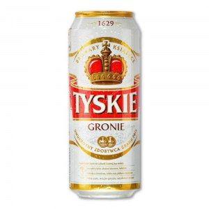 PIWO TYSKIE GRONIE 0.5L PUSZKA