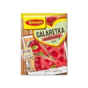 WINIARY GALARETKA MALINOWA 75G